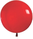 8' Giant Cloudbuster Balloons, Plain no logo