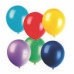 PLAIN ASSORTED LATEX BALLOONS